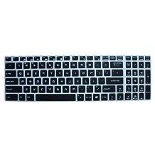CaseBuy Keyboard Skin for MSI GS60 GS70 PE60 PE70 GE62 GL62 GE72 GL72 Ghost, WS60 Workstation, GP62 Leopard Pro, GT62VR GT72 GT72S DOMINATOR, GS63VR GS73VR Stealth Pro, GT73VR Titan Pro(Semi-Black)