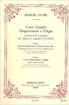 Cours Complet D'improvisation a L'orgue/vol 1/edition Francaise Et Anglaise By Marcel Dupre. For Organ. Text Language: French, English.