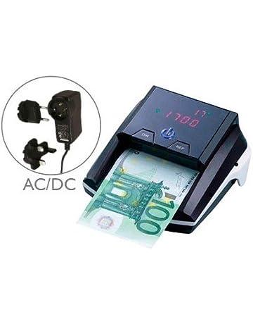 Q-Connect Detector Y Contador De Billete Falsos Con Cargador Electrico Puerto Usb Actualización De