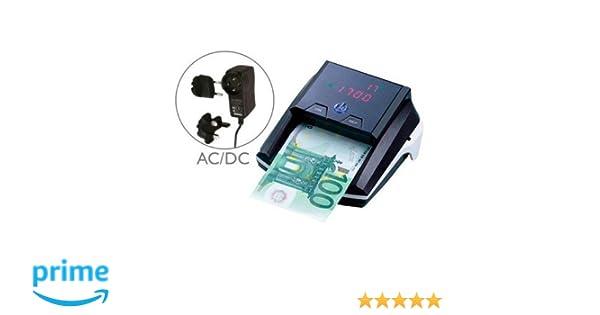Q-Connect - Contador y Detector de Billetes Falsos: Amazon.es: Oficina y papelería