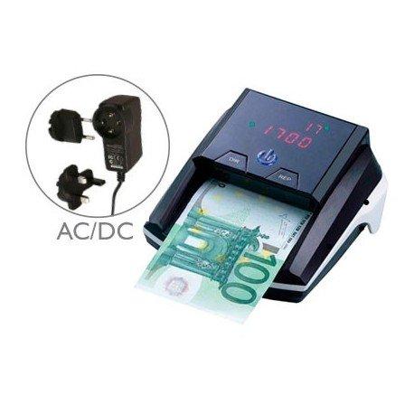 Q Connect Detector de billetes falso con cargador electrico puerto usb actualizacion