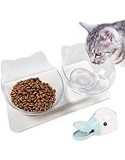 Legendog Miska dla kotów, miska dla kotów, szczeniaków, 15°, platforma dla kotów, szczeniaków, wody