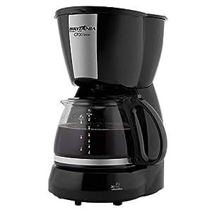 Cafeteira Cp30 Inox, 800w, 220v, 63902061 Britânia Preto