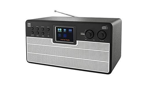 Dual Radio station IR 100 – Internet – DAB – FM – Bluetooth – kleurendisplay – AUX – afstandsbediening – stereogeluid