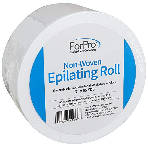 Non Woven Waxing Strips - For Pro Non-Woven Epilating Roll, 3 Inch x 55 Yard
