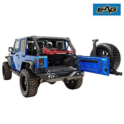 EAG Jack Roll Bar Mounting Bracket Fit for 1976-2020 Jeep Wrangler CJ YJ TJ JK: Automotive