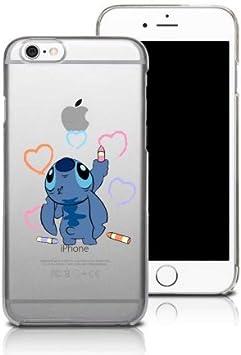 Coque iphone 6/6S Stitch Petit Bonhomme Bleu Dessin Coeur Dessin ...