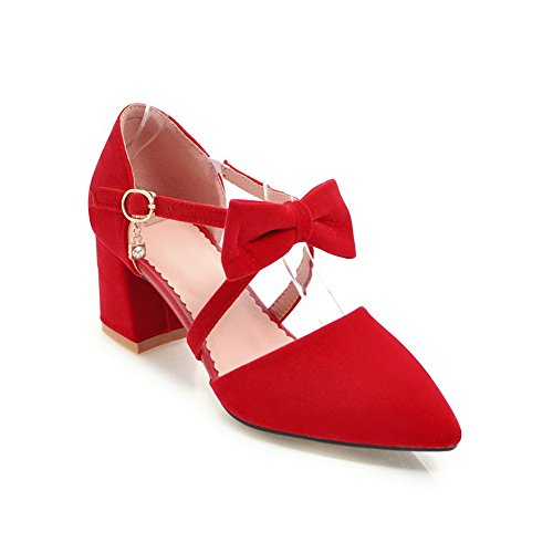 Compensées Sandales BalaMasa Compensées Femme Femme Red BalaMasa Sandales qxX87OT