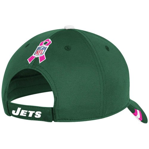 Amazon.com   Reebok New York Jets Breast Cancer Awareness Coaches  Structured Adjustable Hat Adjustable   Sports Fan Baseball Caps   Sports    Outdoors 97af473c9