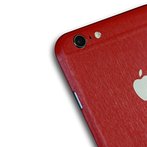 AppSkins Rückseite iPhone 6 PLUS Full Cover - Metal red