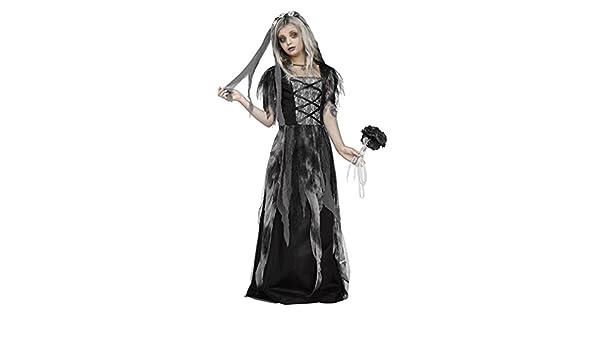 Horror-Shop Cementerio de la Novia del Traje del Niño con Velo M: Amazon.es: Juguetes y juegos