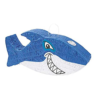 Jawsome Shark Pinata - Shark Party Supplies and Decoration: Kitchen & Dining