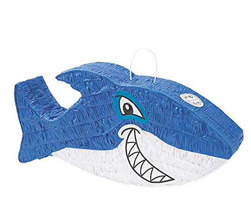 Jawsome Shark Pinata - Shark Party Supplies and Decoration -