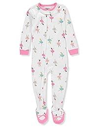 Carter's Baby Girls' 1-Piece Footed Pajamas