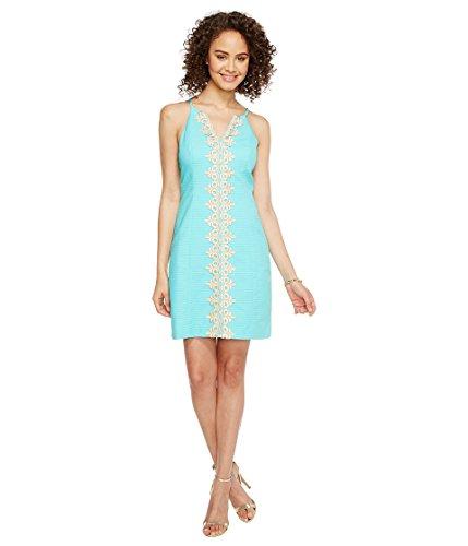 Lilly Pulitzer Women's Pearl Shift Seaside Aqua Dress