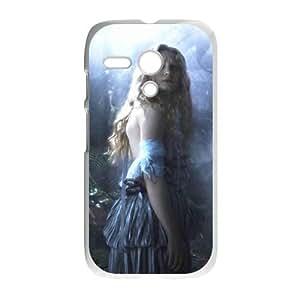 Motorola G Cell Phone Case Covers White Alice in Wonderland TQ7209587