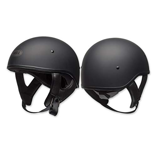 Bell Pit Boss ''Sport'' Unisex-Adult Half Street Helmet (Solid Matte Black, Large) (D.O.T.-Certified) by Bell (Image #3)