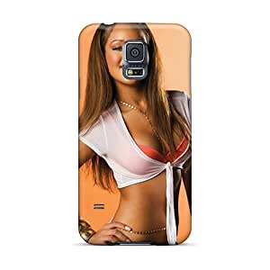Tpu Case For Galaxy S5 With Rihanna Singer