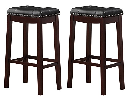 Angel Line 43915-49 Cambridge Padded Saddle Stool with Cushion, 29