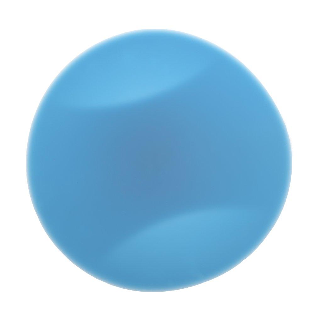 Lamdoo Tap/ón de Fregadero de PVC Azul Tap/ón de Drenaje Cocina Cromo Anillo Lavabo Lavander/ía