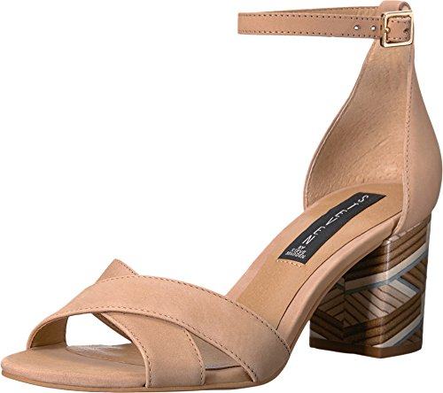 STEVEN by Steve Madden Women's Voomme-s Dress Sandal, Tan Nubuck, 8 M US 41FykuVZFRL