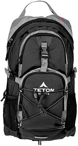 TETON Sports Oasis 1100 Hydration Pack; Free Hydration Bladder; For Backpacking, Hiking, Running, Cycling, and Climbing