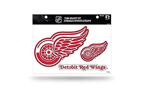 Rico NHL Detroit Red Wings Die Cut Team Magnet Set Sheet