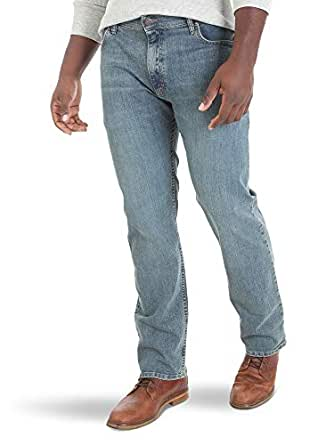 Wrangler Mens Classic Comfort-Waist Jean Jeans - Blue - 29W x 30L