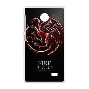 Fire Blood Fashion Comstom Plastic case cover For Nokia Lumia X