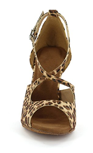 Sala EU 35 Joymod 8 Marrone Heel Leopard Donna MGM 5cm 5zxZwqcRRn