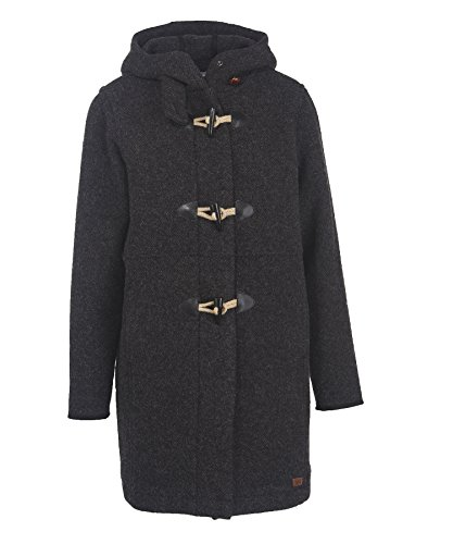 Woolrich Women's Century Wool Duffle, Black, Small