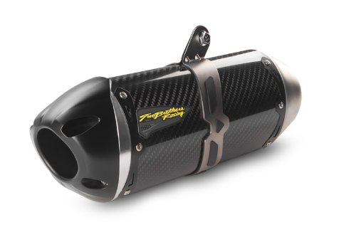 16-18 Kawasaki ZX10R: Two Brothers S1R Slip-On Exhaust (Carbon Fiber) (2018 Zx10r Carbon)