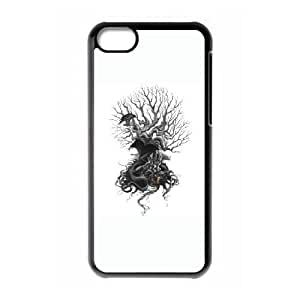 iPhone 5c Phone Case Covers Black Midgard DAF Cheap Cell Phone Case Custom