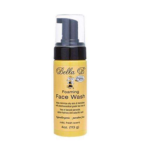 Bella B Foaming Face Wash, 4 Oz