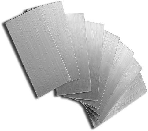 "DIYTILES 剥がして貼るタイル バックスプラッシュ キッチンバックスプラッシュ 剥がして貼るモザイクタイル 12""x12"" 5 sheets シルバー"