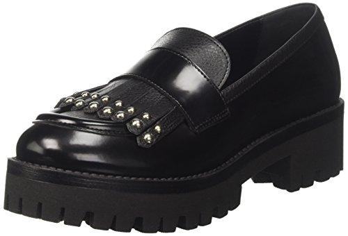 Pollini Sa10325g14tp300a, Sneaker a Collo Basso Donna Nero (Nero)