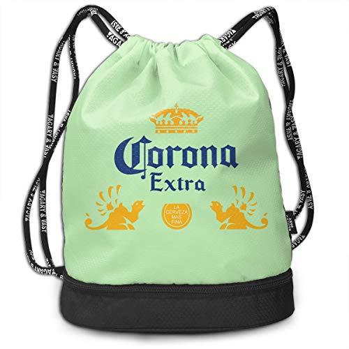 - Corona Extra Beer Multifunctional Bundle Backpack Shoulder Bag For Men And Women