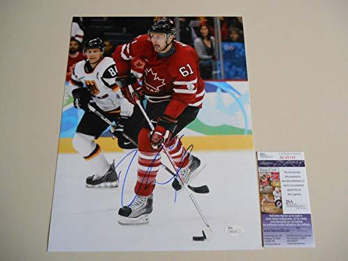 - Rick Nash Autographed Signed 11x14 Photo Memorabilia JSA #M65144 Team Canada New York Rangers Autograph