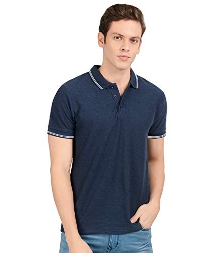 AWG ALL WEATHER GEAR Men's Regular Fit Polo T-Shirt
