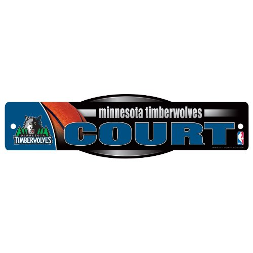 WinCraft NBA Minnesota Timberwolves Sign, 4.5 x 17-Inch by WinCraft