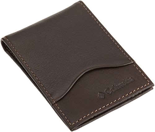 Columbia Leather Pocket Wallet Window
