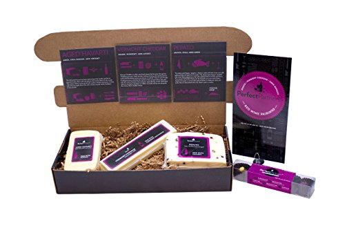 Perfect Partners Cheese and Chocolate for Red Wine Pairing Gift Set, 26.4 Ounce (Pack of ()