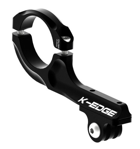 K-EDGE GO BIG Pro Handlebar Mount for GoPro Hero (K13-420 Black)