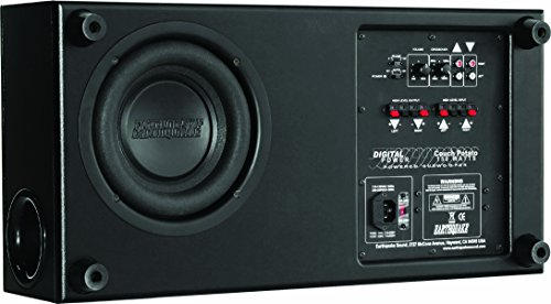 Earthquake Sound CP8 Couch Potato Slim 8-Inch Subwoofer (Black Laminate, Single) 2