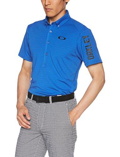 [オークリー] Bark Shadow Border Shirts ゴルフ メンズ