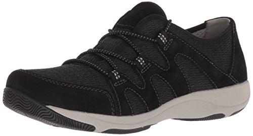 Dansko Women Holland Sneaker Black Suede