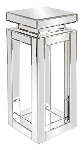 Howard Elliott 11184 Mirrored Pedestal Table, Small