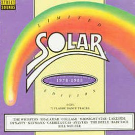 SOLAR RECORDS CD BOX SET (Solar Sets)