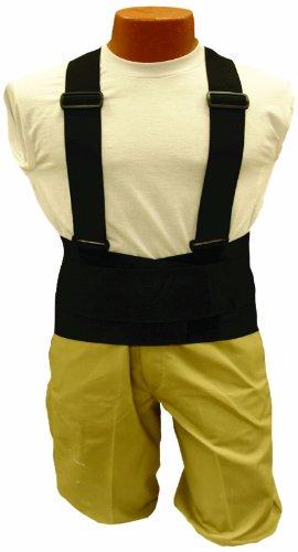 Elk River 40009 Back-EZE Polyester Safety Belt with Suspenders, 6X-Large, (Back Eze Belt)