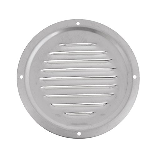 D DOLITY Boat Marine Round Air Louver - Vent Grille Ventilation Louvered Ventilator, Grill Cover, 127mm(5inch) ()